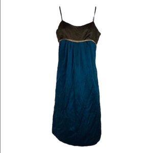 Mint By Jodi Arnold Silk Spaghetti Strap Dress